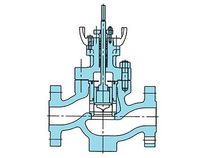83ACV-BS形、83-BLCV-BS形 シールリングバランスタイプ・ケージガイド形調節弁