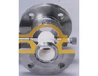 92-CS形 偏心回転プラグ弁 ボデー内面セラミックス溶射仕様