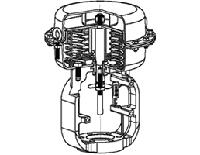 3800型 多弹簧式隔膜驱动部