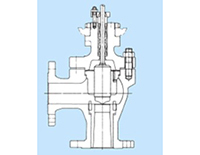Model 02 Angle Type Control Valves GHT Type