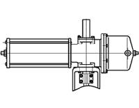 Model PM Spring Return Type Actuators