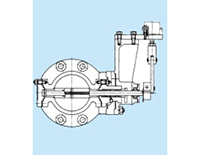Model 12-1 Flanged Casting Type Butterfly Control Valves