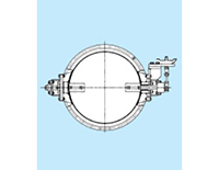 Model 13-3 Flanged Steel Plate Welded Butterfly Control Valves (Step Seal Type)